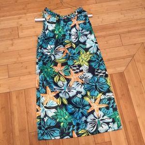Beautiful tropical print dress
